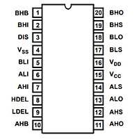 HIP4081AIP Mosfet Sürücü Entegresi Dip-20