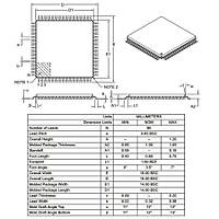 DSPIC30F6014A-30I/PF SMD 16-Bit 30MIPs Mikrodenetleyici TQFP-80