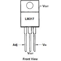 LM317T-DG Ayarlanabilir Voltaj Regülatör Entegresi