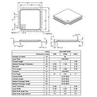 DSPIC30F4013 30I/PT SMD 16-Bit 30MIPs Mikrodenetleyici TQFP-44