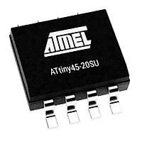 ATtiny45-20SU SMD 8-Bit 20MHz Mikrodenetleyici SOIC-8