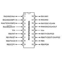 PIC16F648A I/SO SOIC-18 8-Bit 20MHz Mikrodenetleyici