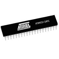 AT89C51-24PC 8-Bit 24MHz Mikrodenetleyici DIP-40