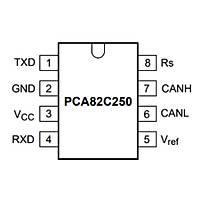 82C250 Smd 85mA Mikrodenetleyici Soic8