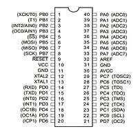 ATMEGA32A-PU 8-Bit 16MHz Mikrodenetleyici DIP-40