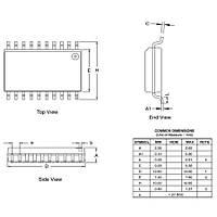 ATtiny2313A-SU SMD 8-Bit 20MHz Mikrodenetleyici SOIC-20