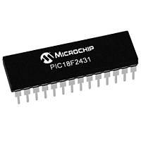 PIC18F2431 I/SP 8-Bit 40MHz Mikrodenetleyici Dip-28
