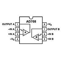 AD708JNZ 30uV 4.5mA OpAmp Entegresi Dip-8