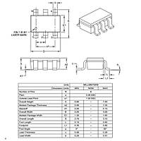 PIC10F320T-I/OT 8-Bit 16Mhz Mikrodenetleyici Sot23-6