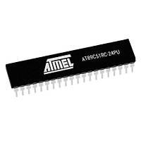 AT89C51RC-24PU 8-Bit 24MHz Mikrodenetleyici DIP-40