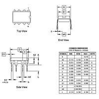 ATtiny11L-2PC 8-Bit 2MHz Mikrodenetleyici PDIP-8