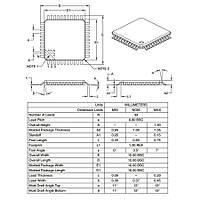 PIC18F4585 I/PT SMD 8-Bit 40MHz Mikrodenetleyici TQFP-44