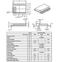 PIC16F1509 I/SO SMD SOIC-20 8-Bit 20 MHz Mikrodenetleyici