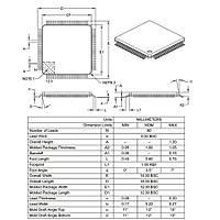 PIC18F8722 I/PT SMD TQFP-80 8-Bit 40MHz Mikrodenetleyici