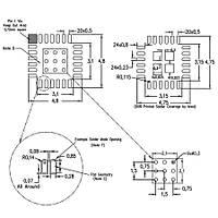 MSP430FR5738IRGER 16-Bit 24Mhz Mikrodenetleyici Vqfn24