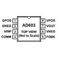 AD603ARZ Smd Op-Amp Entegresi Soic8