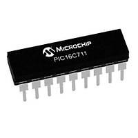 PIC16C71-04/P PDIP-18 8-Bit 4MHz Mikrodenetleyici