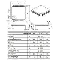 DSPIC30F6014A-30I/PT SMD 16-Bit 30MIPs Mikrodenetleyici TQFP-80