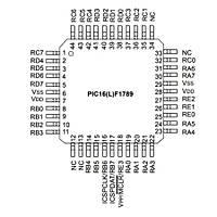 PIC16F1789-I/PT SMD TQFP44 32MHz 8-Bit Mikrodenetleyici