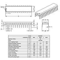 PIC16F870 I/SP SPDIP-28 8-Bit 20 MHz Mikrodenetleyici