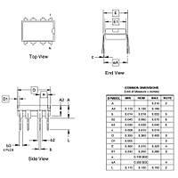 ATtiny85-20PU 8-Bit 20MHz Mikrodenetleyici DIP-8