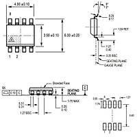 ACS712-30A Smd Akým Sensörü Entegresi Soic-8