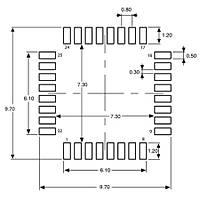 STM32F030K6T6 Smd 32-Bit 48MHz Mikrodenetleyici LQFP-32