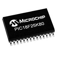 PIC18F25K80-I/SO SMD 8-Bit 64MHz Mikrodenetleyici SOIC-28