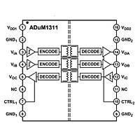 ADUM1311ARWZ-RL 3 Kanal Ýzolatör Entegresi Soic-16