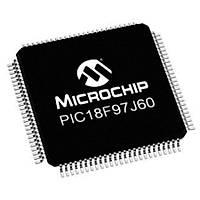 PIC18F97J60 I/PT SMD TQFP-100 8-Bit 41.667MHz Mikrodenetleyici