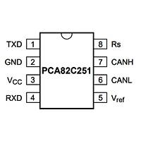 82C251 Smd 85mA Mikrodenetleyici Soic8