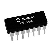 PIC16F688 I/P PDIP-14 8-Bit 20 MHz Mikrodenetleyici