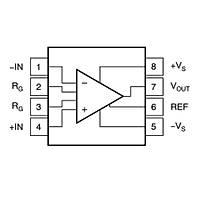 INA826AID Smd Amplifikatör Amfi Entegresi Soic-8