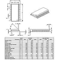 PIC16F723A I/SO SMD SOIC-28 8-Bit 20 MHz Mikrodenetleyici