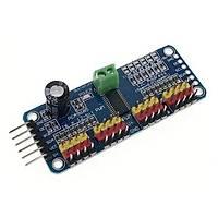 PCA9685 16 Kanal 12 Bit PWM - Servo Motor Sürücü Devresi I2C Modülü