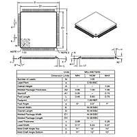 DSPIC33FJ64MC710-I/PT SMD 16-Bit 40MIPs Mikrodenetleyici TQFP-100