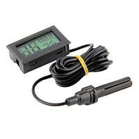 Problu Termometre Sýcaklýk Ölçer ve Nem Ölçer Higrometre thr151