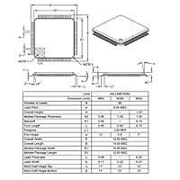 PIC18F87J50 I/PT SMD 8-Bit 48MHz Mikrodenetleyici TQFP-80