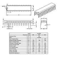 PIC18F2520 I/SP DIP-28 8-Bit 40MHz Mikrodenetleyici