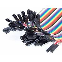 Upjaks Diþi-Diþi Jumper Kablo 40 Adet 20 cm Arduino