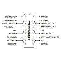 PIC16F628A I/SO SMD SOIC-18 8-Bit 20 MHz Mikrodenetleyici
