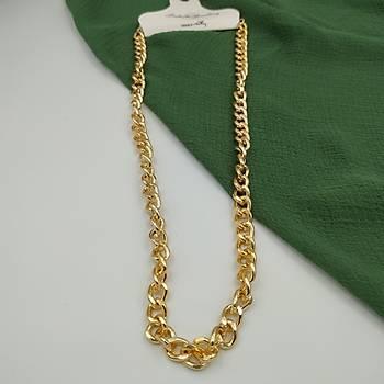 Halkalý Klasik Zincir Gold Kolye