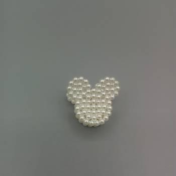 Ýncili Mickey Mouse Model Toka (1 Adet)