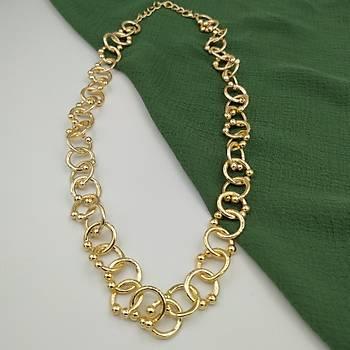 Pretty Zincir Gold Kolye