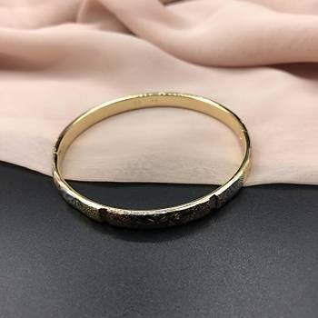 XUPÝNG Zarif Desen Gold Bileklik
