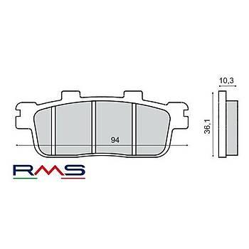 SYM GTS 250 ARKA FREN BALATA RMS