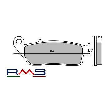YAMAHA X-MAX 250 2014-2017 ABS ÖN FREN BALATA RMS