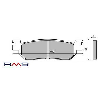 YAMAHA X-MAX 250 2014 VE ÖNCESÝ ARKA FREN BALATA RMS