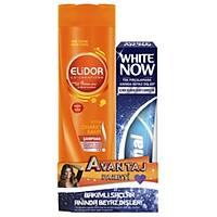 Elidor Onarýcý Þampuan 350 ml + Signal White Now 75 ml