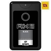 Axe Cep Parfümü Black 17 Ml 12'li Set